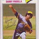 1977 Topps 278 Danny Frisella