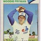 1977 Topps 28 Woodie Fryman