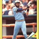 1986 Woolworth's Topps 8 Cecil Cooper