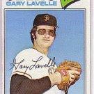 1977 Topps 423 Gary Lavelle