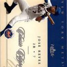 2004 Classic Clippings 3 Jose Reyes