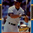 1987 Donruss Highlights #23 Don Mattingly