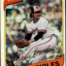 1980 Topps 517 Don Stanhouse