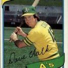 1980 Topps 261 Dave Chalk