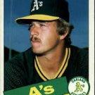 1985 Topps 166 Keith Atherton
