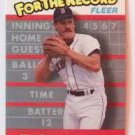 1989 Fleer For The Record 1 Wade Boggs