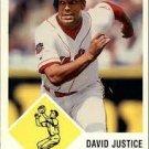 1998 Fleer Tradition Vintage 63 15 David Justice