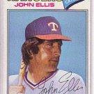 1977 Topps 36 John Ellis