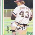 1982 Topps 777 Tom Griffin