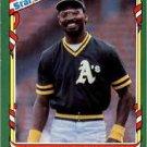 1987 Fleer Star Stickers 32 Mike Davis