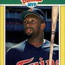 1989 Fleer Baseball MVP's #32 Kirby Puckett