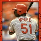 1990 Donruss 632 Willie McGee