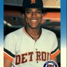 1987 Fleer 168 Lou Whitaker