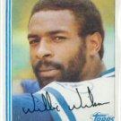 1982 Topps 230 Willie Wilson