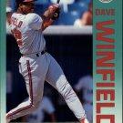 1992 Fleer 72 Dave Winfield
