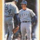 1987 Topps 656 Rangers Team/(Bobby Valentine MG/and Ricky