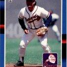 1988 Donruss 314 Glenn Hubbard