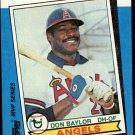 1982 K-Mart 35 Don Baylor 79AL