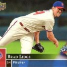 2008 Phillies Upper Deck World Series Champions PP10 Brad Lidge