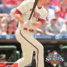 2008 Phillies Upper Deck World Series Champions PP38 Chase Utley HL