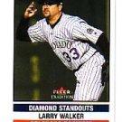 2002 Fleer Tradition Update U277 Larry Walker DS