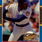 1987 Donruss Highlights 31 Andre Dawson