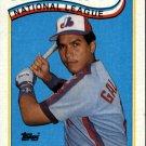 1989 Topps 386 Andres Galarraga AS