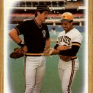 1987 Topps 131 Pirates Team/(Sid Bream and/Tony Pena)