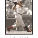 2004 Fleer InScribed 54 Jim Thome