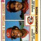 1983 Topps 351 Cesar Cedeno/Mario Soto TL