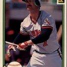 1982 Donruss 342 Rick Burleson