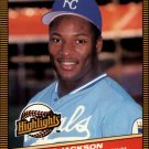 1986 Donruss Highlights 43 Bo Jackson