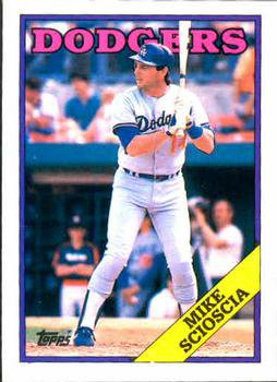 1988 Topps 225 Mike Scioscia