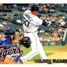 2010 Tigers Topps DET10 Wilkin Ramirez