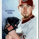 2010 Topps National Chicle 9 Brandon Webb