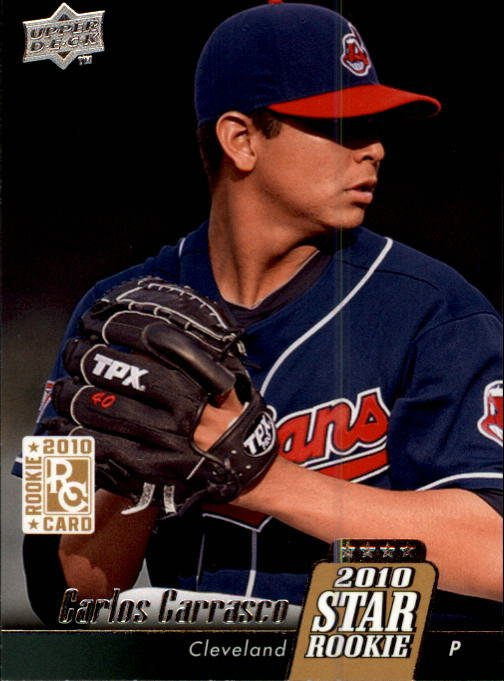 2010 Upper Deck 7 Carlos Carrasco (RC)