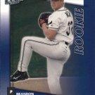 2002 Donruss Fan Club 250 Brandon Backe RC
