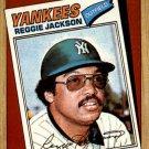 1987 Topps 312 Reggie Jackson/TBC '77