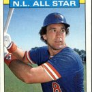 1986 Topps 708 Gary Carter AS