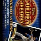 2012 Topps Golden Giveaway Code Cards GGC5 Matt Kemp