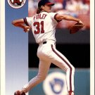 1992 Score 585 Chuck Finley