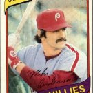 1980 Topps 317 Mike Anderson DP
