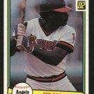 1982 Donruss 493 Don Baylor