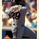 1993 Donruss 704 Steve Hosey RR