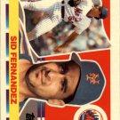 1990 Topps Big 155 Sid Fernandez