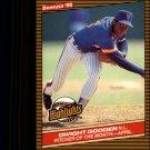 1986 Donruss Highlights 8 Dwight Gooden