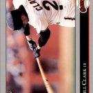 1992 Leaf 241 Will Clark