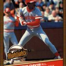 1986 Donruss Highlights 30 Eric Davis