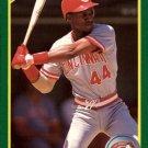1990 Score 185 Eric Davis