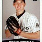 2004 Upper Deck Vintage 478 Justin Huisman RC